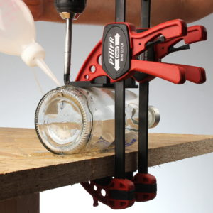 Flaschen Lampe selber bauen DIY Lampenbau Österreich