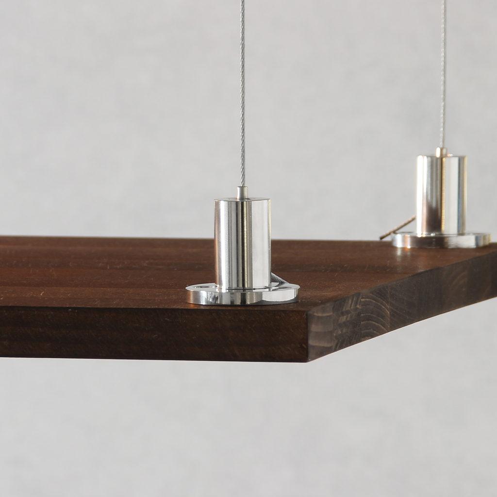 stahlseil aufh ngung f r lampen diy lampenbau sterreich. Black Bedroom Furniture Sets. Home Design Ideas